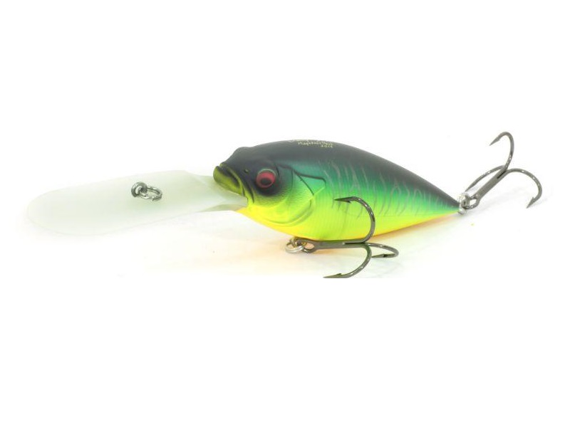 воблеры megabass deep-six mat tiger