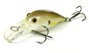 LUCKY_CRAFT_Bevy_Crank_45DR-250_Chartreuse_shad