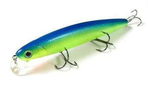 Lucky_Craft_Flash_Minnow_110_263_Chartreuse_blue